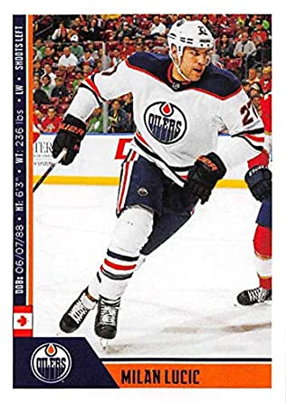 2018-19 Panini NHL Stickers Collection  374 Milan Lucic Edmonton Oilers  Official Hockey Sticker b7f3258c0