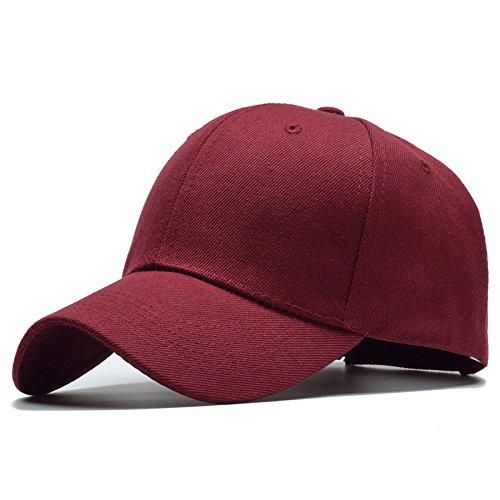 Meaeo Gorra De Béisbol Sólidos Nuevos Hombres Mujeres Tapones Para Hombre Gorras Snapback Hat Hueso Masculino Hip Hop Trucker Cap