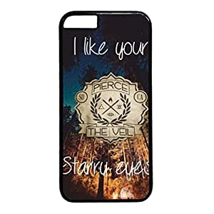 iCustomonline Case for iPhone 6 PC, The Veil Quotes Stylish Durable Case for iPhone 6 PC