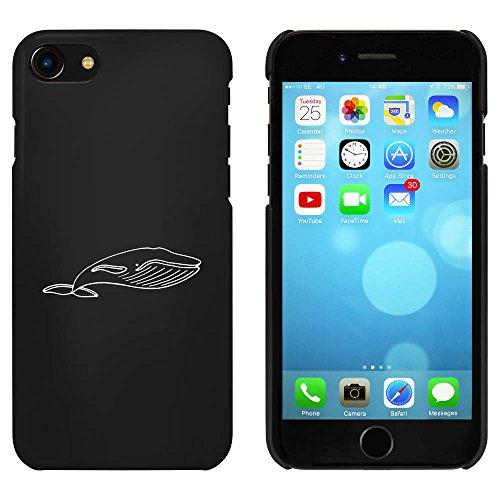 Noir 'Baleine' étui / housse pour iPhone 7 (MC00085824)