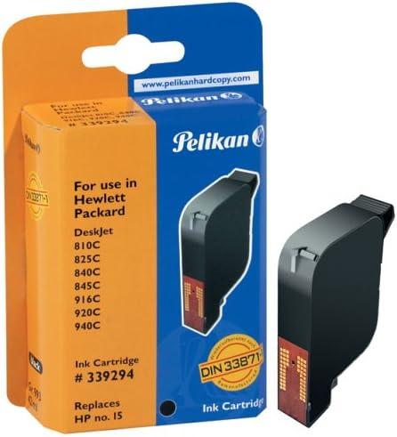 Pelikan H10 C6615de Druckerpatrone Ersetzt Hp 15 Schwarz Bürobedarf Schreibwaren