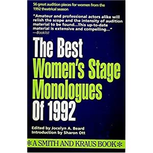 The Best Women's Stage Monologues of 1992