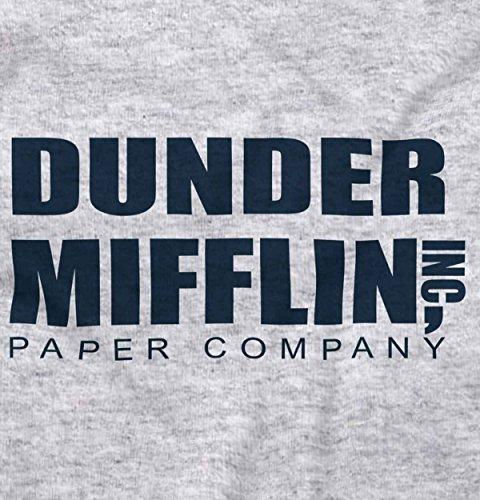 Hilarious Hoodie Sweatshirt (Brisco Brands Dunder Mifflin Paper Company Shirt Office Jim Pam Dwight Cool Hoodie Sweatshirt)