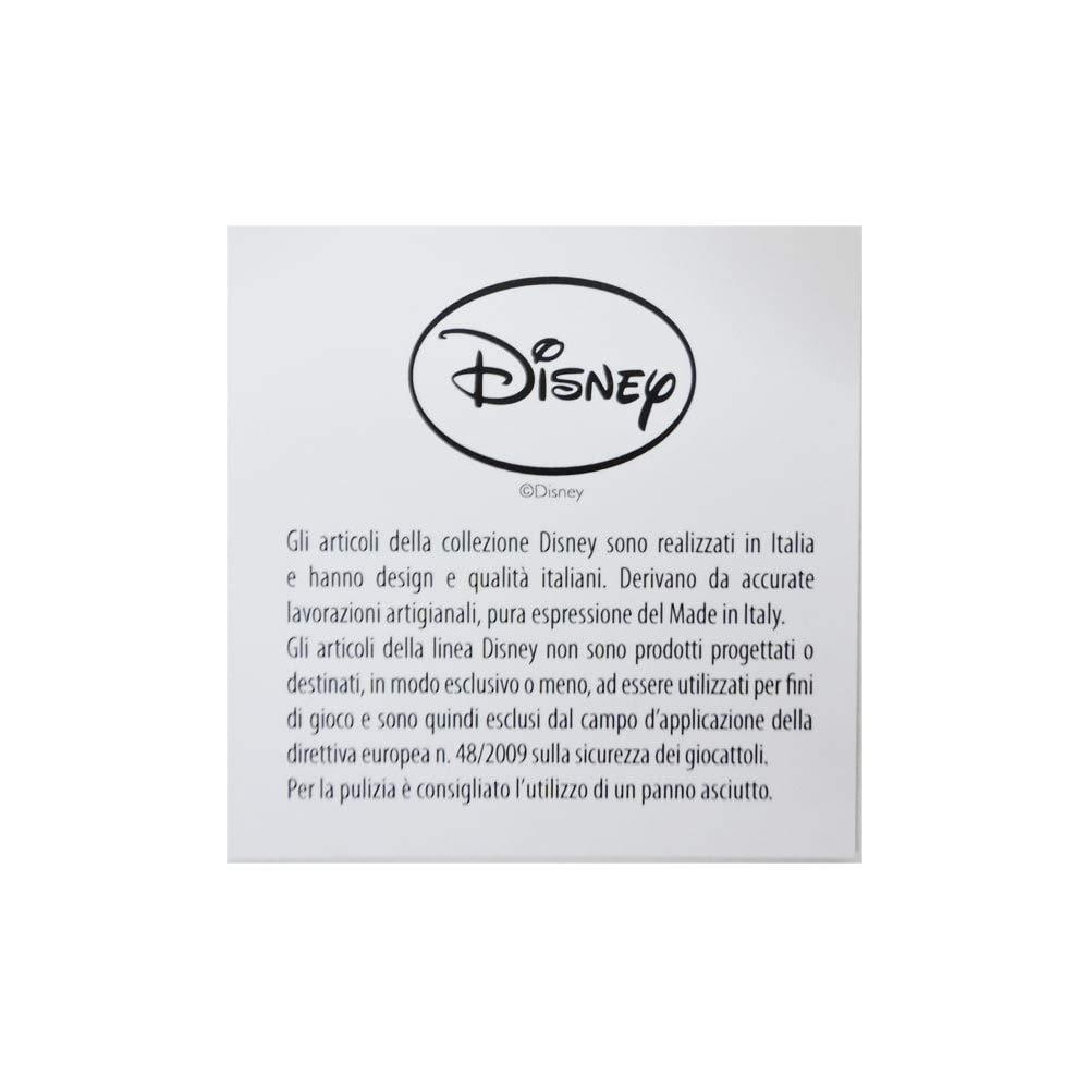 aus Silber perfekt als Geschenkidee zur Taufe oder zum Geburtstag- farbiges 3D-Motiv des hunden Lucky ideal f/ür das Kinderzimmer 101 Dalmatiner-Design Bilderrahmen zum Hinstellen Disney Baby