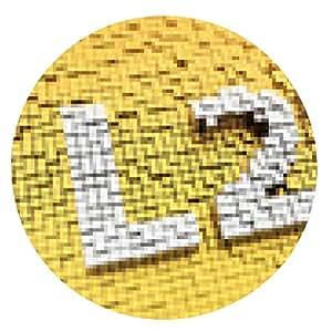 alfombrilla de ratón pixelada L2TP - ronda - 20cm