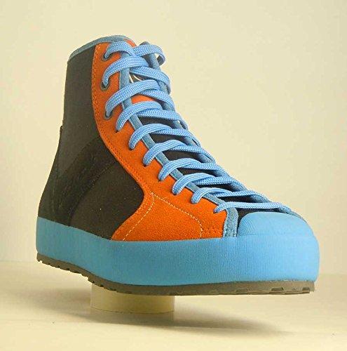 Dolomite Settantanove High zapatos de al aire libre azul y naranja