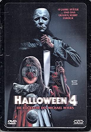 HALLOWEEN 4:THE RETURN OF MICHAEL MYERS - Steelbook - 3D Cover ...