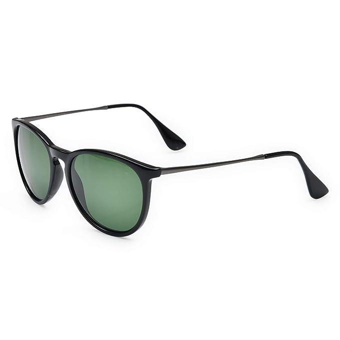 Amazon.com: Journow - Gafas de sol unisex clásicas con marco ...