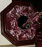 Scarlet Porthole Reflections