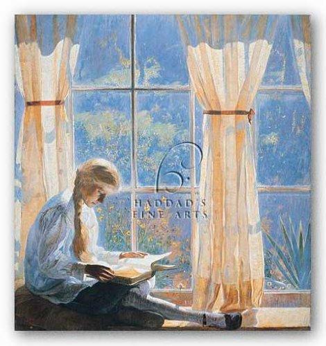 Orchard Window By Daniel Garber 22 5 X24  Art Print Poster