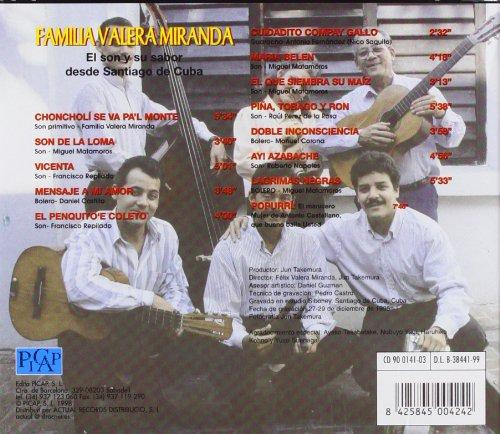 El Son Y Su Sabor Desde Santiago De Cuba: La Familia Valera ...