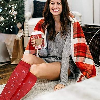 Compression Socks Women /&Men 20-30 mmHg Knee High Socks Best for Travel,Nurse