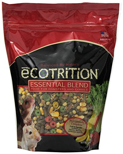 8 in 1 Ecotrition Essential Blend for Hamsters and Gerbils, 2 Pound (Food Premium Hamster)
