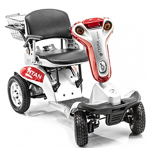 Hummer XL Folding 4-Wheel Electric Scooter Tzora Titan SI...