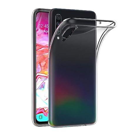 Ferilinso Cover per Samsung Galaxy A70 Custodia Case Ultra Slim