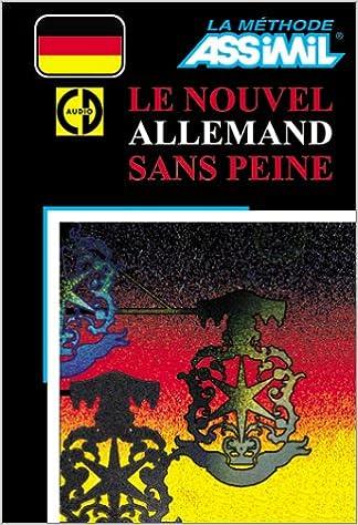 Amazon Fr Le Nouvel Allemand Sans Peine 1 Livre Coffret De 4 Cd Assimil Collection Sans Peine Livres