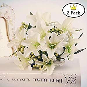 S.Ena ArtificialFlowers Lily L1 8