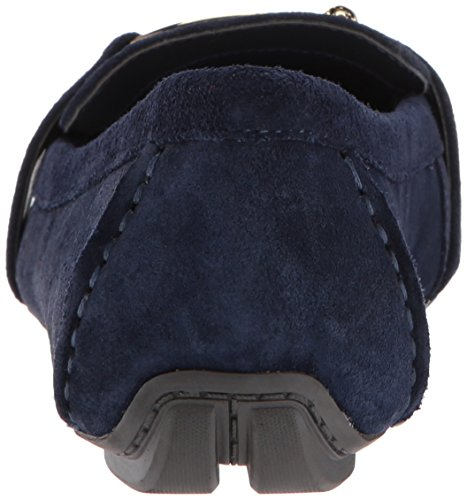 AK Anne Klein Sport Women's Petra Suede Loafer Flat Navy cheap sale extremely pay with visa cheap online klMHOBP