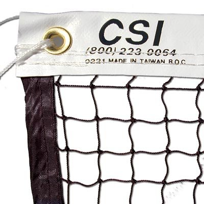 CSI Cannon Sports Knotted Badminton Tournament Net with Steel Cable