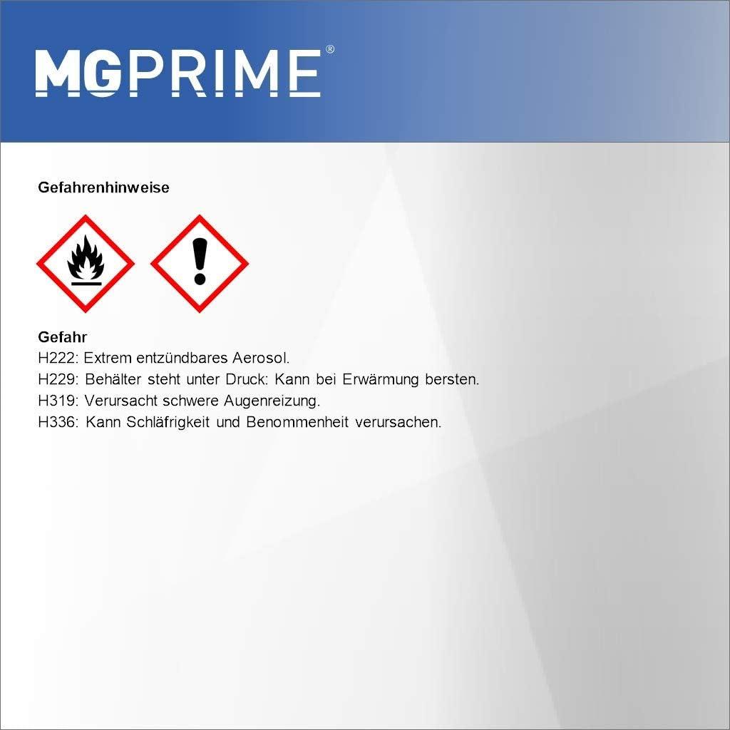 Mg Prime Autolack Sprühdosen Set Für Ford Europe B Fm6ewha Magnetic Metallic Magnetic Grau Basislack Klarlack Spraydose 400ml Auto