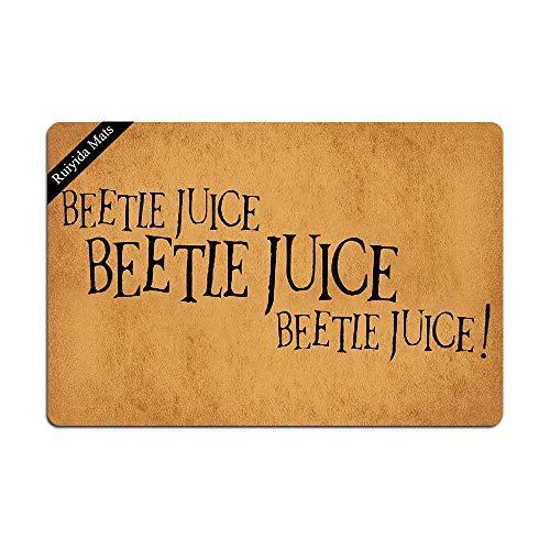 Ruiyida Beetlejuice Beetlejuice Beetlejuice Halloween Doormat Custom Home