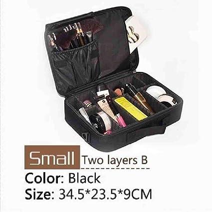 OYHBGK Nueva actualización Bolsa de cosméticos de gran capacidad Estuche de maquillaje de viaje profesional para mujeres de gran venta: Amazon.es: Belleza