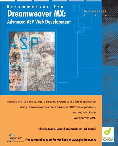 Dreamweaver MX: Advanced ASP Web Development