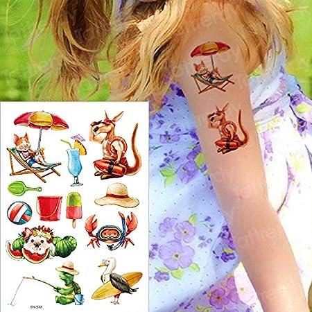 Tatuaje Temporal para niños, Color de Agua, Tatuaje, pequeña ...