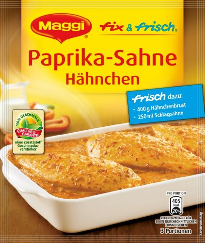 Maggi Fix & Fresh Paprika Cream Chicken (1 (Paprika Cream)