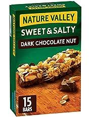 Nature Valley Sweet & Salty Dark Chocolate Nut Granola Bars, 15 Count