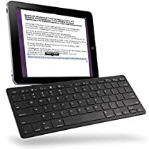 Wireles Keyboard Ultra Slim Magic Bluetooth Keyboard with Long Battery Life, for Laptops Pro Air iOS PC Android Smartphones Tablets and Other Bluetooth Enabled Devices