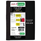 Five Star Student 2018-2019 Academic Year Weekly & Monthly Planner, Small, 5-1/2 x 8-1/2, Advance, Black (CAW40100)