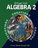 McDougal Littell High School Math: Student Edition Algebra 2 2001, MCDOUGAL LITTEL, 0395937787