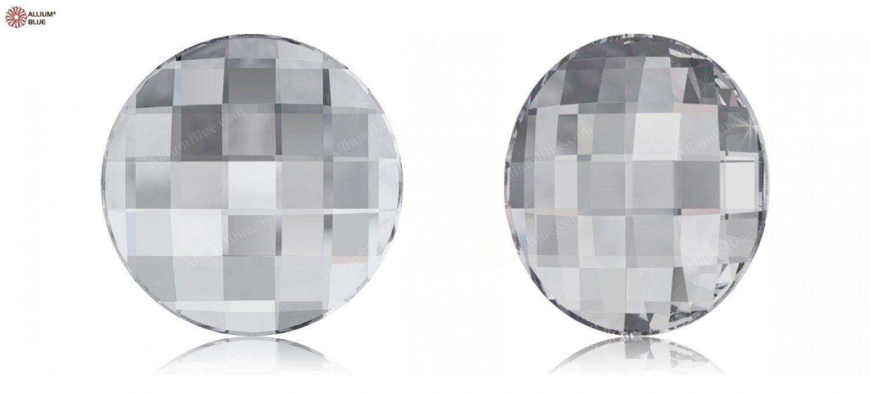 Cristales de Swarovski 1066855 Piedras Strass No Hotfix 2035 MM 40,0 Crystal F, 6 Piezas