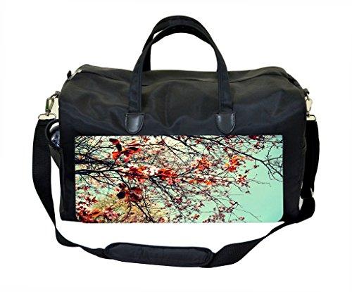 Lea Cherry - Cherry Blossoms Diaper/Baby Bag