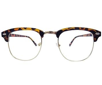 8a12a8a5937d Vintage Retro Glasses Tortoise shell SHURON Eyeglass Frame Spectacles  Eyewear Rx