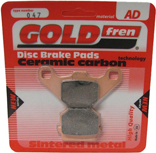 Polaris 200 Sawtooth Rear Disc Model Brake Disc Pads Front L/H Goldfren 2006: