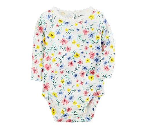 Carter's Baby Girls' Grand Floral Bodysuit 12 Months