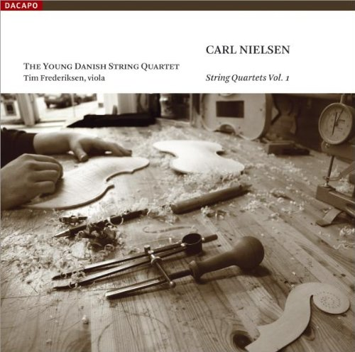(Nielsen: String Quartets, Vol. 1 - String Quartet in G Minor, Op. 13 & F Major, Op. 44 / String Quintet in G Major)