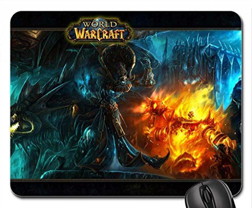"""Price comparison product image World of Warcraft - """"Classic Theme"""" (Widescreen) Mouse Pad, Mousepad (10.2 x 8.3 x 0.12 inches)"""