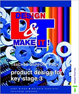 Design and Make It!: Teacher Support Pack: Product Design for Key