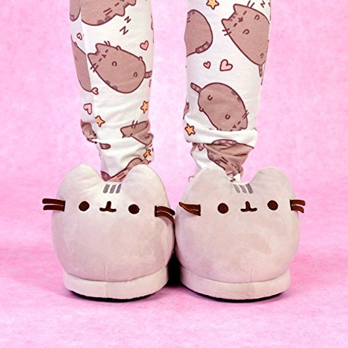 3D Pusheen Pusheen Plush Slippers Slippers 3D Plush EtppHq