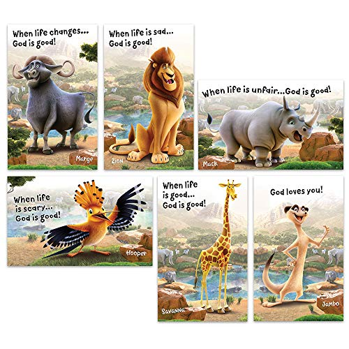 Bible Point Posters - Set of 6 - Roar VBS by Group -