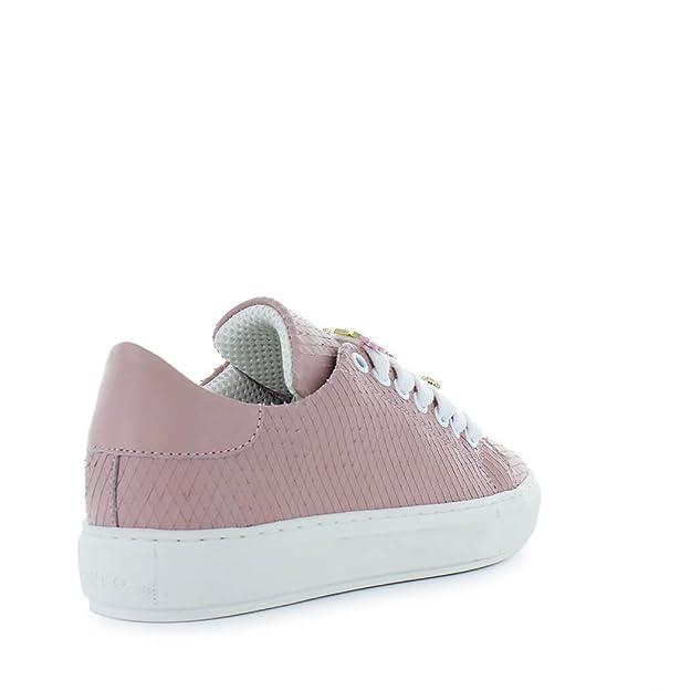 2817359413df PINKO Damen Schuhe Allegra Sneaker Rosa Leder Frühling-Sommer 2018   Amazon.de  Schuhe   Handtaschen
