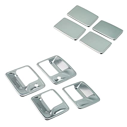 For FORD F250 F350 CREW Chromed ABS Lower Accent Mouldings Moldings 1999-2016