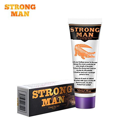 Strongman XXL Big Dick Herbal Penis Enlargement Cream Dick Thickening Growth