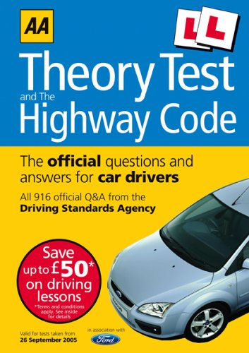 AA Driving Test Theory and Highway Code (AA Driving Test Series) PDF