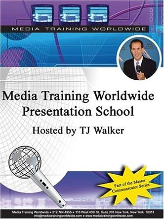 amazon com media training worldwide presentation school a one month