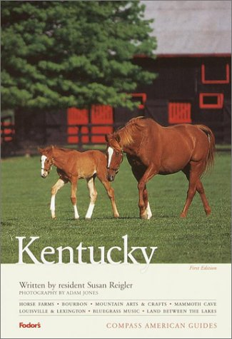 Compass American Guides  Kentucky 1st Edition  Compass American Guide Kentucky Band 1