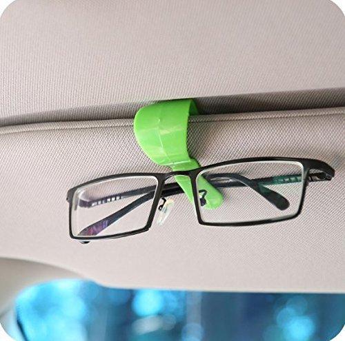2pcs Multi-Purpose Car Vehicle Visor Accessories Sunglasses Glasses Card Pen Holder Ticket Clip Universal
